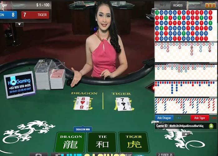 cach choi rong ho Cách chơi rồng hổ thắng sát nút được áp dụng cho các ván bài được kéo từ 3 lá bài trở lên.