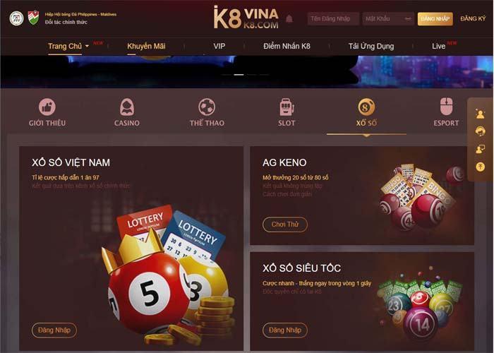 lo de online uy tin K8 - Nhà cái cá cược lô đề online uy tín hàng đầu Châu Á