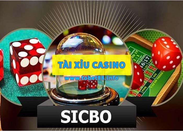 tai xiu casino Đánh tài xỉu casino sử dụng 3 viên xúc sắc, mỗi viên có 6 mặt